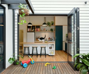 Passive Extension and Renovation: Magnolia Soul Family House