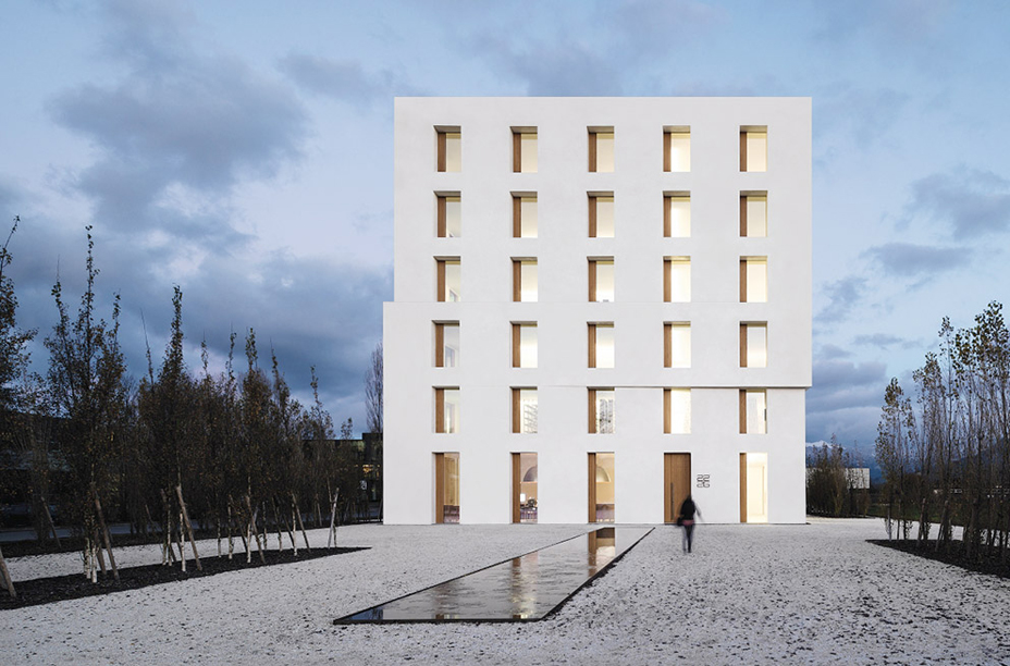 Passive Office Building 2226 By Baumschlager Eberle