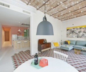 Pastel Interiors in Barcelona