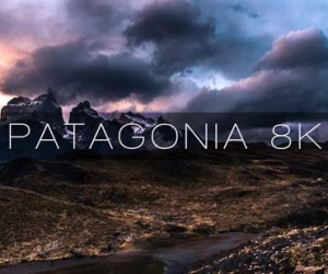 Patagonia 8K shown through timelapses