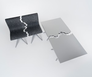 Pentatonic x Snarkitecture Fractured Furniture Collection