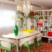 Penthouse Apartment Dazzles With Bold Colors And Patterns
