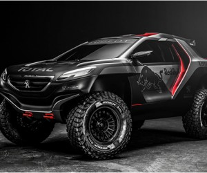 Peogeot 2008 DKR for 2015 Dakar Rally