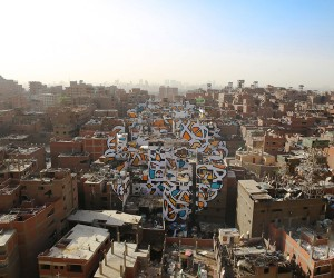 Perception by eL Seed in Cairo, Egypt