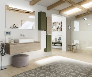Perfetto Plus: Bathroom Vanities and Cabinets that Usher in Adaptable Ease