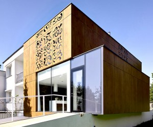 Perforated House by Piotr Kluj and Pawe Litwinowicz