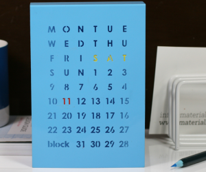 Perpetual Calendar By Block