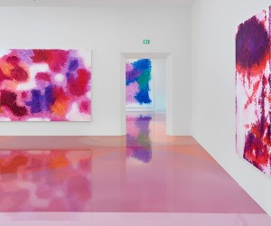 Peter Zimmermans Resin Floors at Freiburg Museum