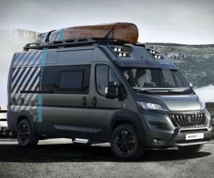 Peugeot Boxer 4x4 Camper Van
