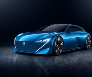 Peugeot Instinct Electric Autonomus Concept Car