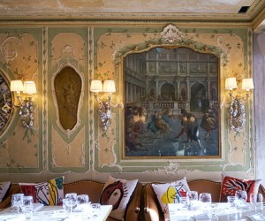 Philippe Starck Restores Quadri Restaurant in Venice