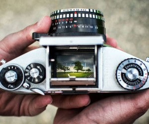 Photographer Oliver Hihn and His Landscape Photography Through a Vintage Cameras Viewfinder