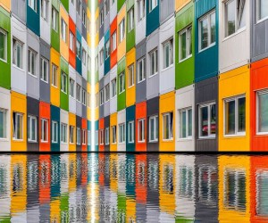 Photographer Paul Brouns Transforms Architectural Facades Into Abstract Patterns