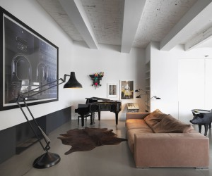 Photographers Loft by Bruzkus Batek Architekten