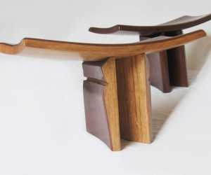 Pi | Meditation Stool, Yoga Seat From Recycled Oak Wine Barrels