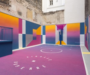 Pigalle Duperr Basketball Court in Paris