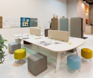 Pillow Furniture: Stylish Sound-Proofing For The Office