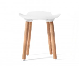 Pilot Stool by Patrick Rampelotto and Fritz Pernkopf for Quinze  Milan