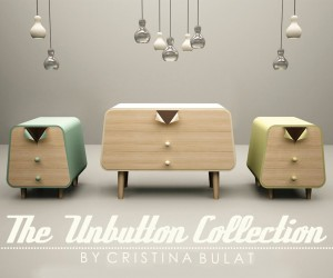 Pin-Up-Inspired Furniture Collection Marrying Retro Style and Functionality