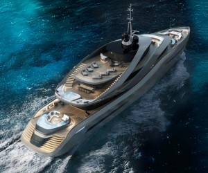 Pininfarina and Rossinavi Unveil Aura Concept Yacht