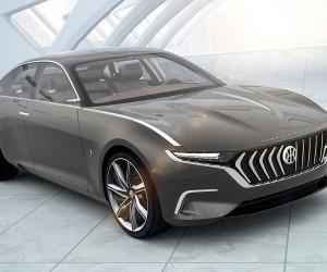 Pininfarinas Hybrid Sedan H600 Unveiled in Geneva