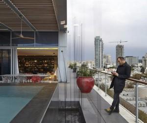 Pitsou Kedem: penthouse with unconventional design