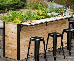 Plant A Bar: Outdoor Planter Bar
