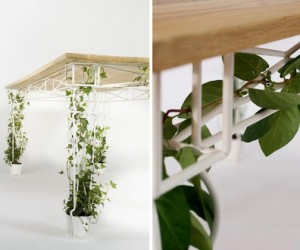 Plantable Table by JAILmake