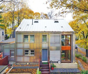 Translucent Energy Efficient East Coast Home