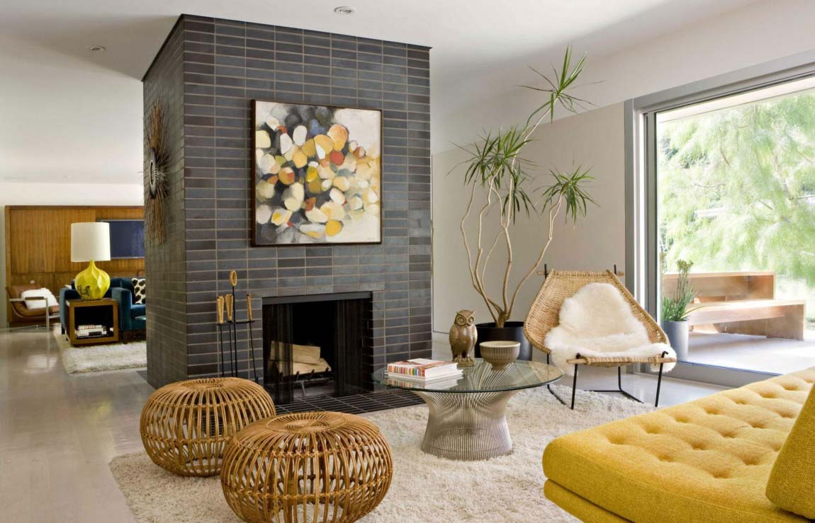 playfully designed mid century ranch house in brentwood rh materialicious com