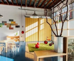 Playschool finds home in a warehouse transformation by Red Dot Studio