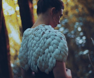 Plumage, The Worlds First 3D-Printed, Customizable Cape