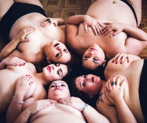 Plus-Size Women Pose in Lingerie for Mariana Godoy