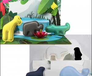 Policosmos Animals and Pop-Up Environments