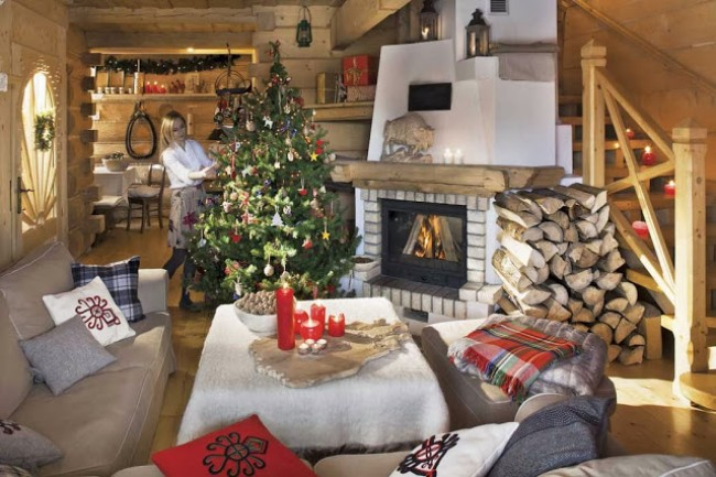 Polish Chalet Ready For Christmas