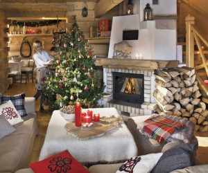 Polish chalet ready for Christmas