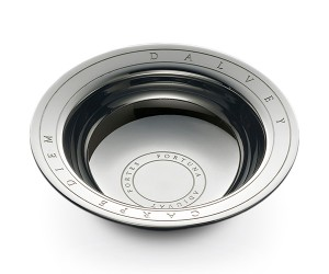 Polished Steel Shaving Bowl