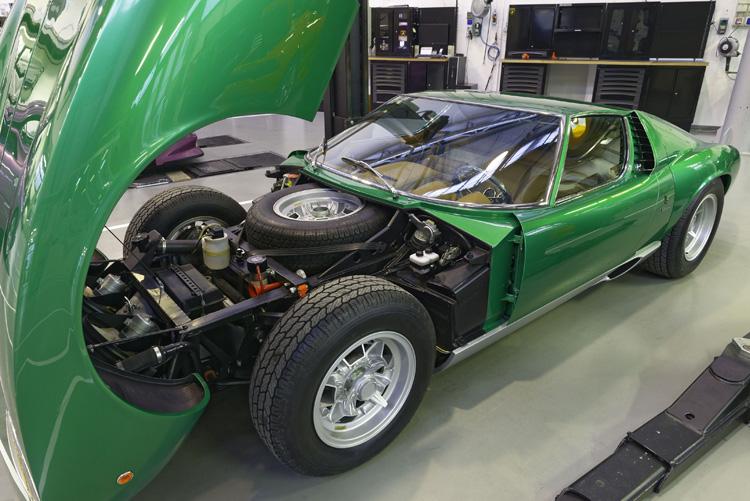 PoloStorico Restores 1971 Lamborghini Miura SV