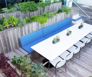 Pool-to-Farm-to-Table at Ink Hotel