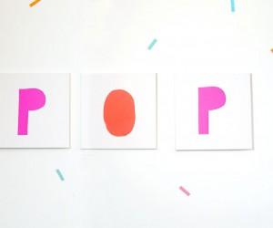 POP Canvas wall art