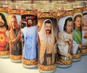 Pop Culture Religious Candles