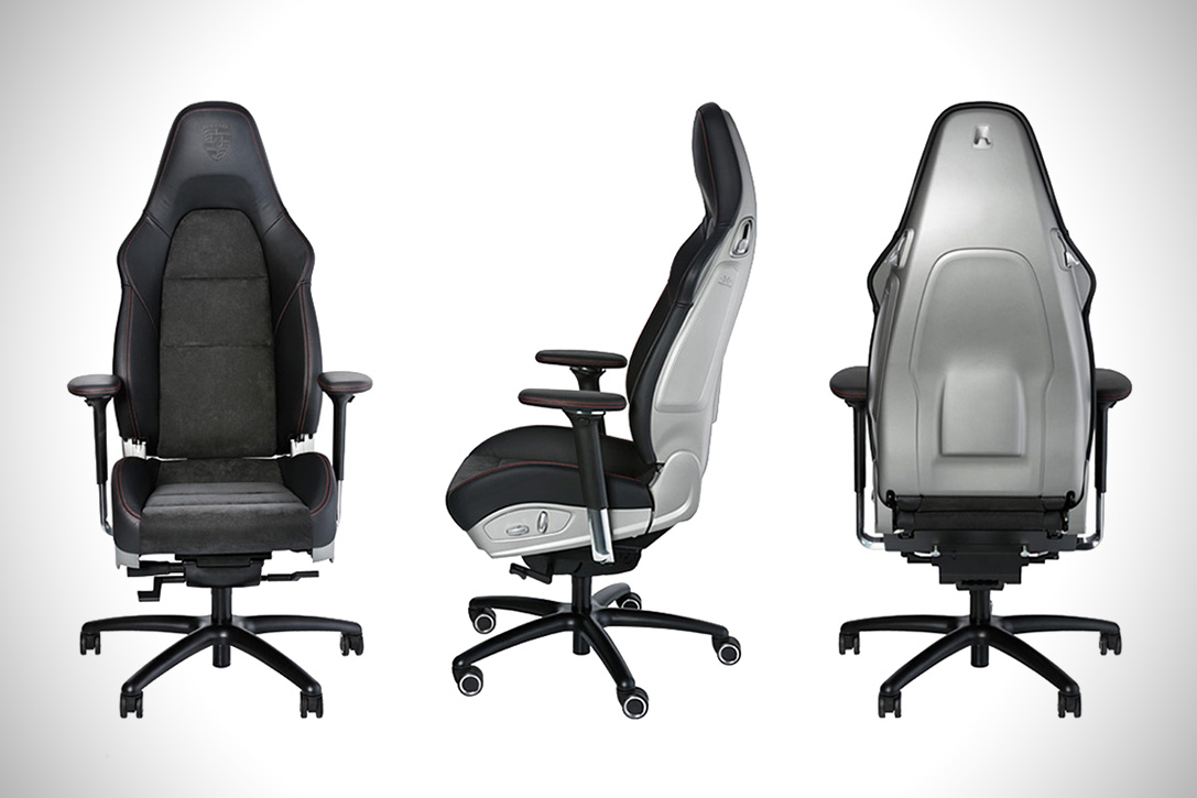 Porsche 911 GT3 seat is the coolest office chair