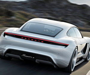Porsche Mission E electric sports car concept