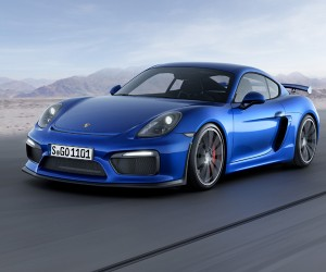 Porsche Unveils The Cayman GT4