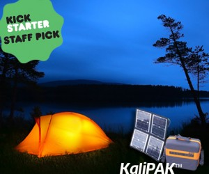 Portable Solar Energy Backpack KaliPAK Is The Ultimate Gadget For The Great Outdoors