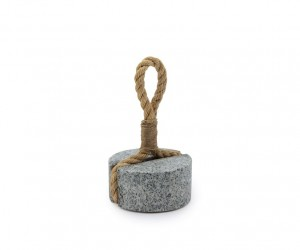 Pound doorstop by Eiji Ohta for Aji Project