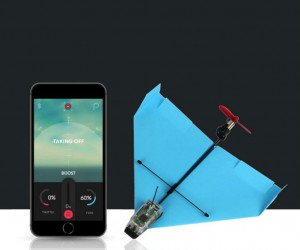 PowerUp Dart: App Controlled Paper Airplane