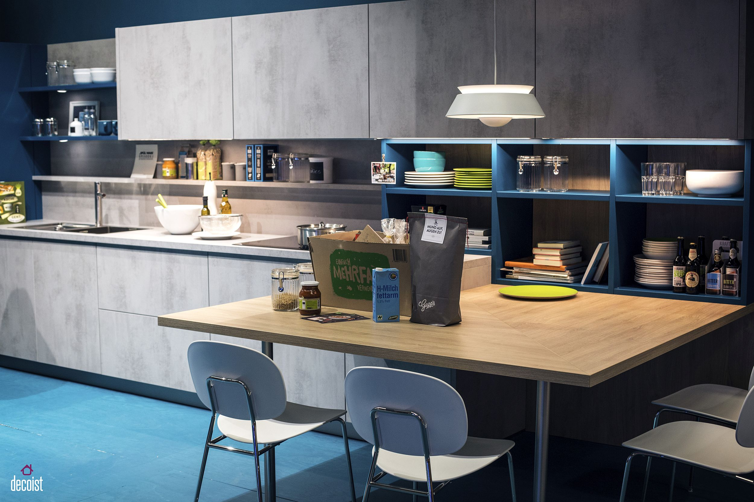 unique contemporary kitchen open shelving ideas | Practical and Trendy: 40 Open Shelving Ideas for the ...