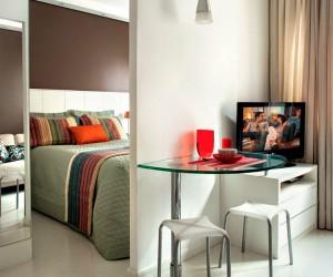 Practical design in 25 sqm apartment