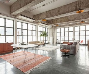 Pragmatic Design and Hidden Spaces: Industrial Loft in Hong Kong